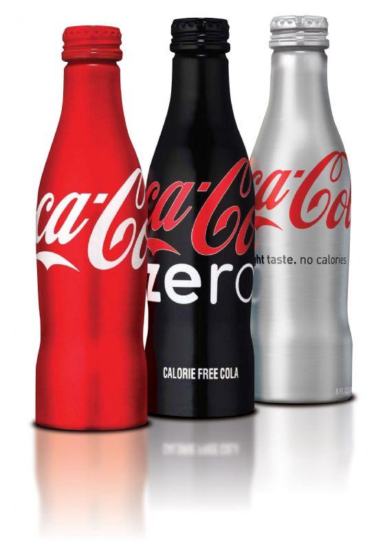Coca-Cola-Aluminum-Bottles