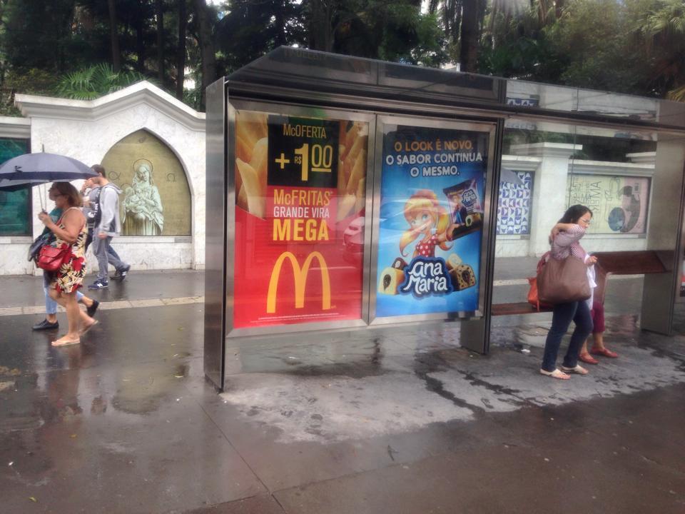 mc donalds e ana maria na Avenida Paulista