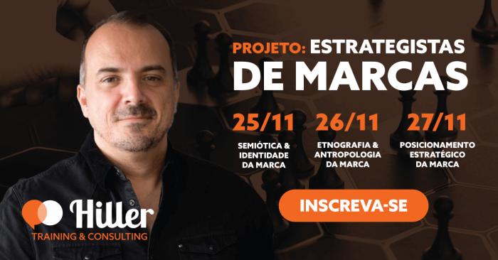 Marcos Hiller Projeto Estrategistas de Marca Imagem de Divulgação